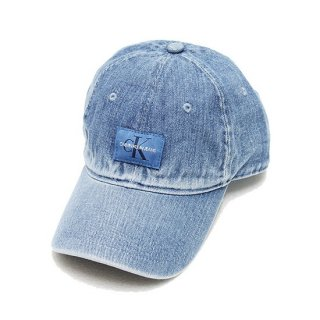 CALVIN KLEIN カルバンクライン DENIM STRAPBACK CAP/BLUE DENIM