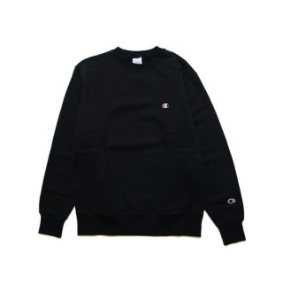 CHAMPION チャンピオン BASIC CREWNECK SWEAT C3-Q006/BLACK