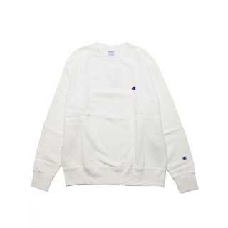 CHAMPION チャンピオン BASIC CREWNECK SWEAT C3-Q006/OFF WHITE