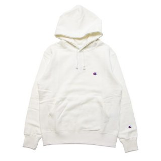 CHAMPION チャンピオン BASIC PULLOVER HOOD C3-Q105/OFF WHITE