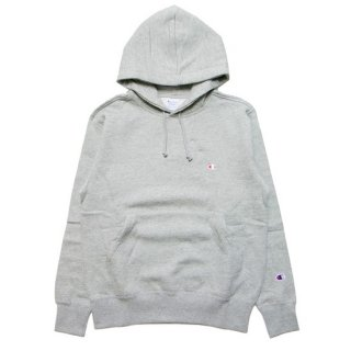 CHAMPION チャンピオン BASIC PULLOVER HOOD C3-Q105/OXFORD GREY