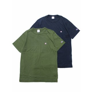 CHAMPION チャンピオン BASIC S/S TEE C3-P300/NAVY, DARK GREEN