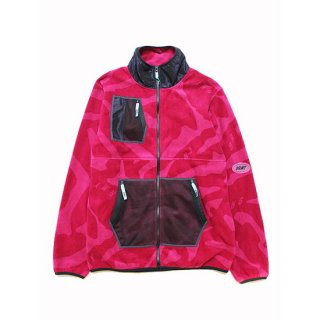 GRIMEY グライミー MYSTERIOUS VIBES ZIP POLAR FLEECE GPFJ340/PURPLE