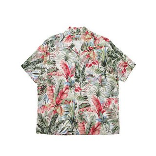 SCHOTT ショット BOTANICAL HAWAIIAN S/S SHIRT 3105037/LIGHT BEIGE