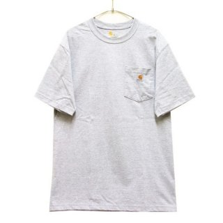 CARHARTT カーハート WORKWEAR POCKET S/S TEE K87/HEATHER GREY