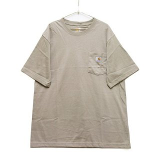 CARHARTT カーハート WORKWEAR POCKET S/S TEE K87/DESERT