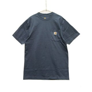 CARHARTT カーハート WORKWEAR POCKET S/S TEE K87/BLUE STONE