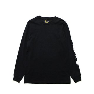 CARHARTT カーハート WORKWEAR GRAPHIC LOGO L/S TEE K231/BLACK