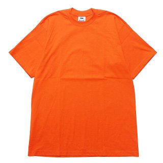 PRO CLUB プロクラブ HEAVYWEIGHT CREW NECK S/S TEE/ORANGE