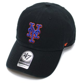 47BRAND フォーティーセブン METS '47 CLEAN UP CAP/BLACK