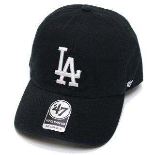 47BRAND フォーティーセブン DODGERS '47 CLEAN UP CAP/BLACK