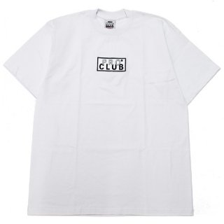 PRO CLUB プロクラブ HEAVYWEIGHT EMBROIDERED BOX LOGO S/S TEE 101EMB/WHITE