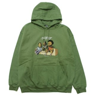 RAP ATTACK ラップアタック MONEY HOODIE RAWT20-PU001/MILITARY GREEN