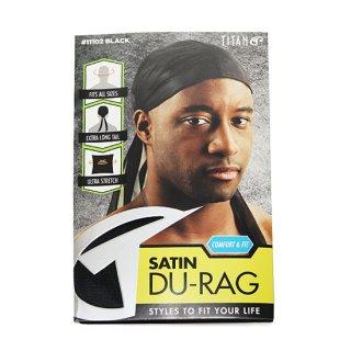 SATIN DU-RAG/BLACK