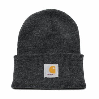 CARHARTT カーハート ACRYLIC WATCH HAT A18/CHARCOAL HEATHER