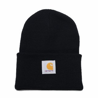 CARHARTT カーハート ACRYLIC WATCH HAT A18/BLACK