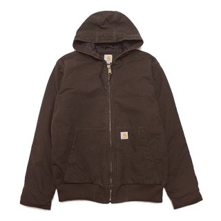 CARHARTT カーハート WASHED DUCK ACTIVE JACKET 104050/DARK BROWN