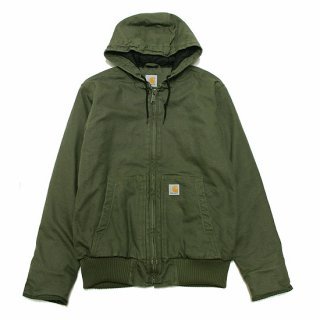 CARHARTT カーハート WASHED DUCK ACTIVE JACKET 104050/MOSS