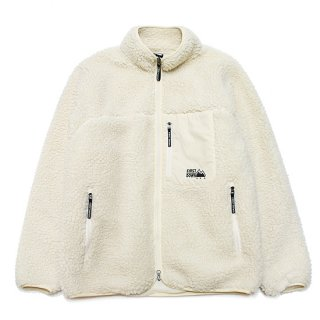 FIRST DOWN ファーストダウン TUMBLING BOA BLOUSON F842515/OFF WHITE