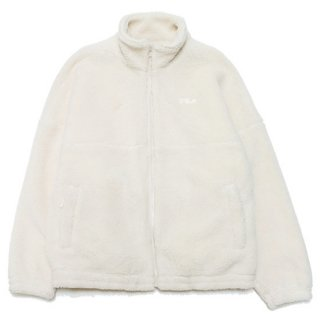 FILA HERITAGE フィラ ヘリテージ BOA FLEECE JACKET PM9958/BEIGE