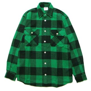 ROTHCO ロスコ EXTRA HEAVYWEIGHT FLANNEL L/S SHIRT 4739/GREEN/BLACK