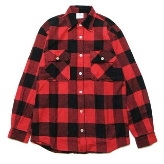 ROTHCO ロスコ EXTRA HEAVYWEIGHT FLANNEL L/S SHIRT 4739/RED/BLACK