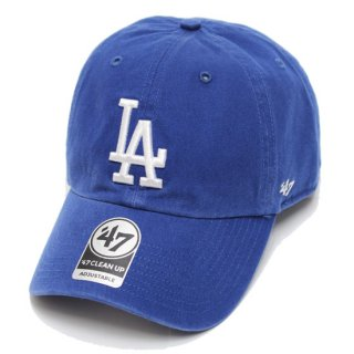 47BRAND フォーティーセブン DODGERS '47 CLEAN UP CAP/ROYAL