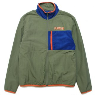 DIAMOND SUPPLY ダイアモンドサプライ MARQUISE REVERSIBLE JACKET/MULTI