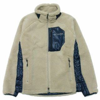 COLUMBIA コロンビア ARCHER RIDGE JACKET PM3743/BEIGExNAVY