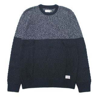 PEPE JEANS ペペジーンズ FEDERICO KNIT PM702048/NAVY