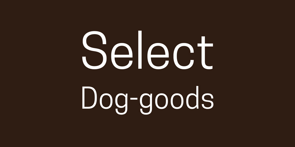 Select Dog-goods