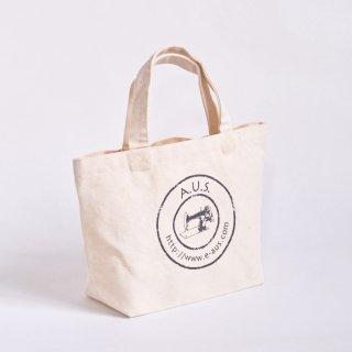 【A.U.S. Goods】A.U.S.ロゴプリント トートバッグ
