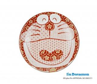 九谷焼ドラえもん豆皿 赤絵