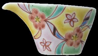 銀舟窯 花の韻(黄)