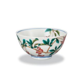 飯碗 花海棠