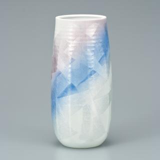 8.5号花瓶 銀彩ひびき