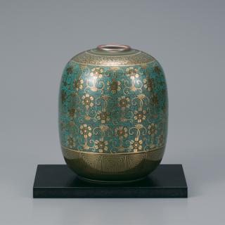 6号花瓶 青粒鉄仙