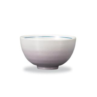 飯碗 釉彩 パープル