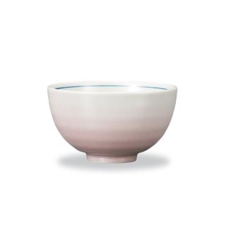 飯碗 釉彩 ピンク