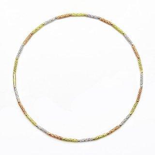 K18 バングルLe Cercle Tricolore (ル・セルクル トリコロール)の商品画像