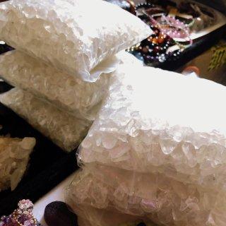 マニカラン ヒマラヤ水晶 細石 さざれ サザレ 1kg スピリチュアルパワーストーン