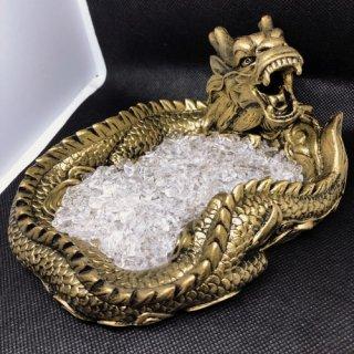 龍 浄化セット 高品質ヒマラヤ水晶さざれ付き
