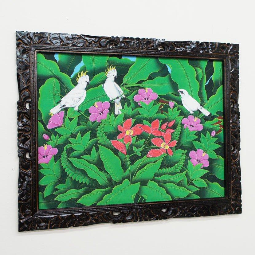 バリ絵画・ブンゴセカン・PA-019-118