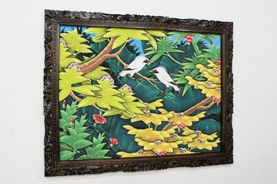 バリ絵画・ブンゴセカン・PA-019-121