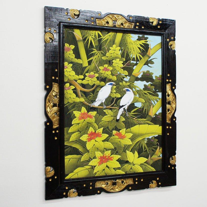 バリ絵画・ブンゴセカン・ハイクラス・100*80cm