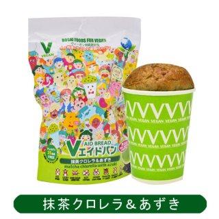Vエイドパン 抹茶クロレラ&あずき 100g