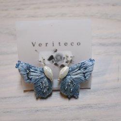Veriteco   蝶々イヤリング