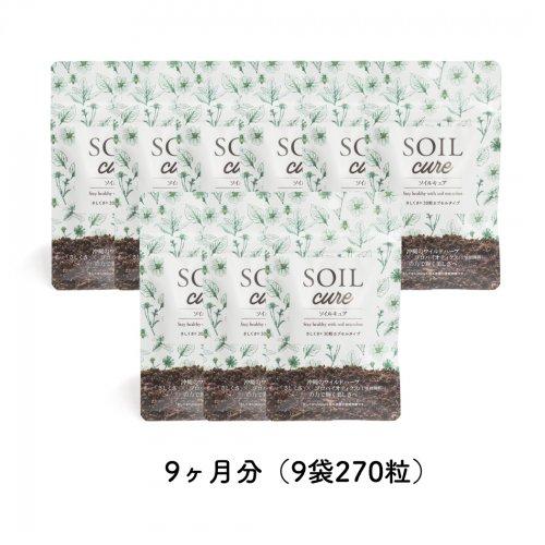 SOILcureさしくさファミリーバリューパック9ヵ月分(9袋270粒)