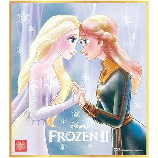 ディズニー 色紙ART [16.アナと雪の女王2]【ネコポス配送対応】【C】