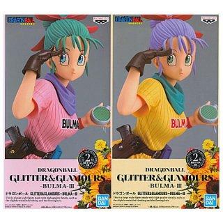 【全部揃ってます!!】ドラゴンボール GLITTER&GLAMOURS BULMA III ブルマ [全2種セット(フルコンプ)]【 ネコポス不可 】